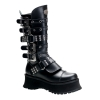 RAVAGE-302 Black Leather